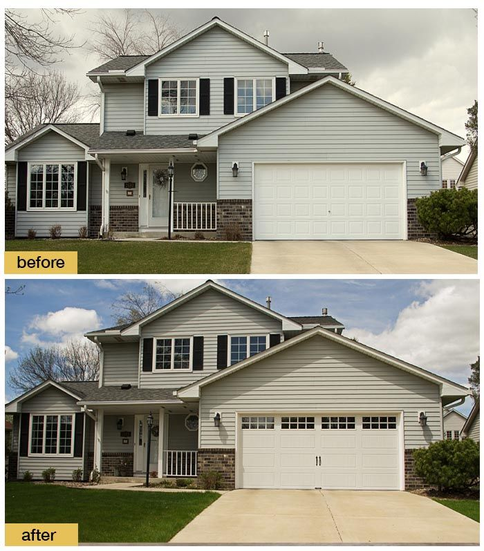 Big Plans Little Budget Soffit B Gone: 50+ Best Clopay Garage Doors For Farmhouse Style Homes