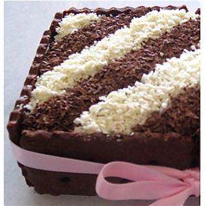 Receta de Chocotorta:  Tarta de Galletas de Chocolate y Dulce de Leche - Bizcochos y Tartas - Recetas - Charhadas.com