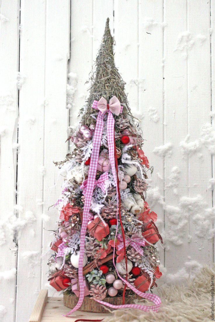 Купить Коралловая ель - коралловый, елка, настольная елка, новогодний подарок, Новый Год, рождество