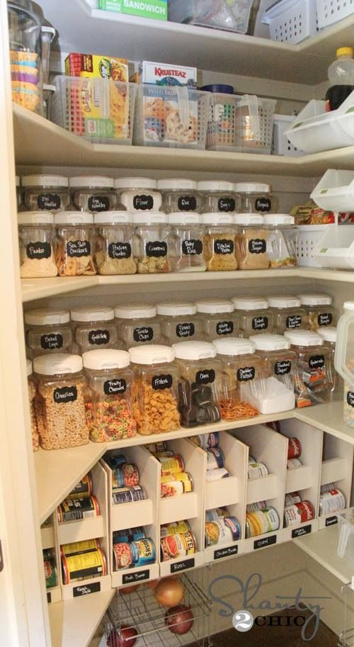 Presenting your pantry