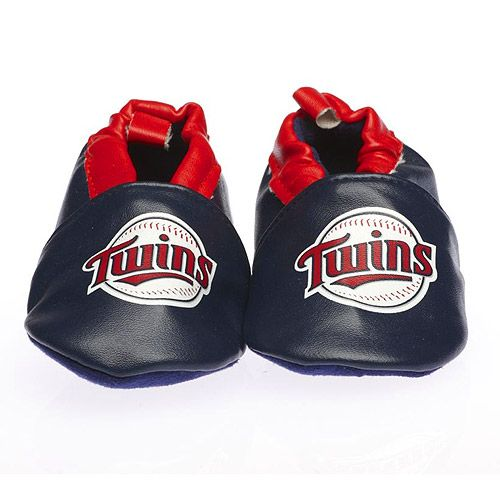 Minnesota Twins Crib Shoe by SkidDERS Footwear - MLB.com Shop