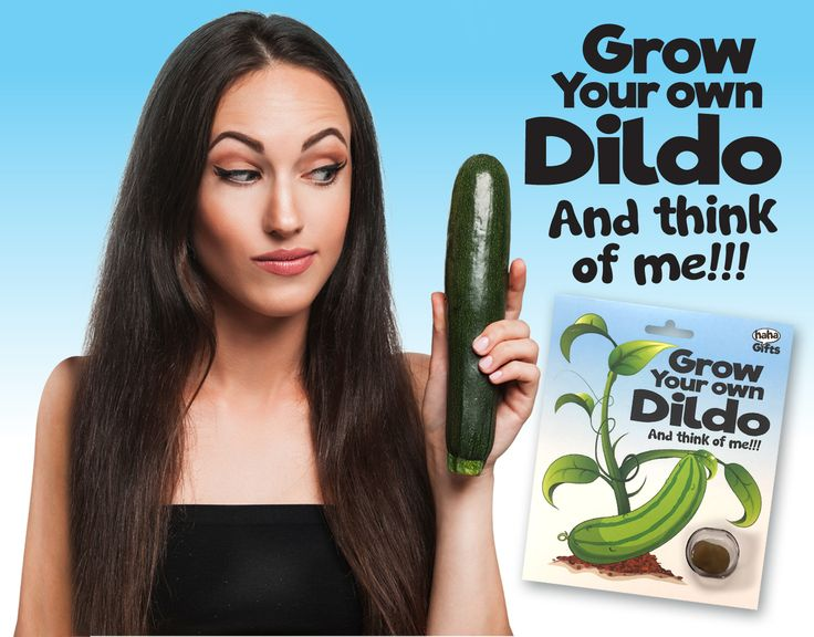 Grow Your Own Dildo! Secret Santa gift from HahaGifts! https://www.haha-gifts.com