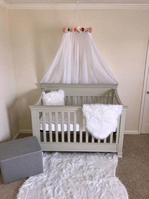 Cuna dosel  Pabellón de la cama  Capota de bebé  Decoración