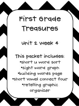 35 best First Grade Treasures Units images on Pinterest