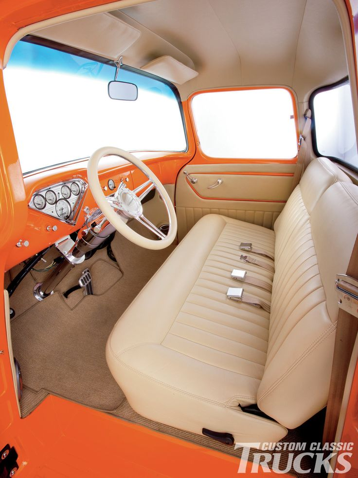 1956 Chevy Truck Seat Cover Velcromag
