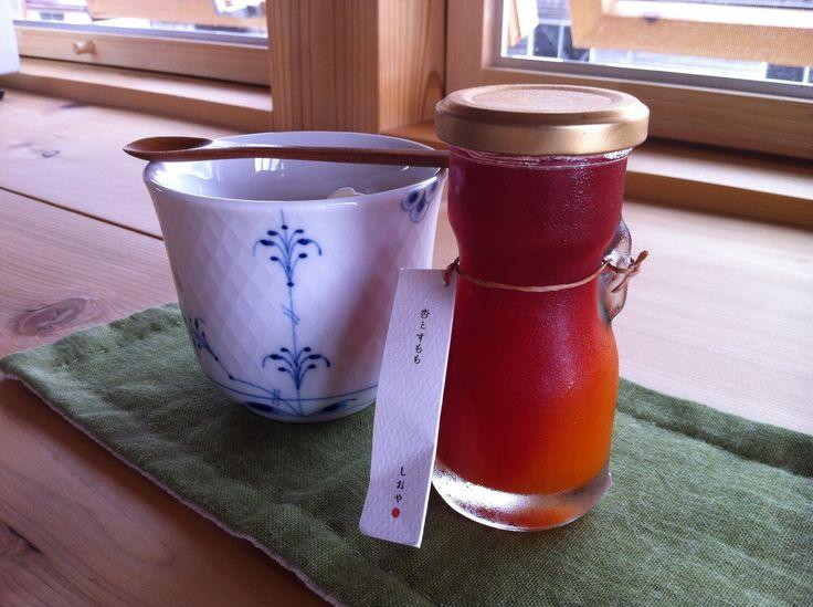 Sumomo jam from Shioya