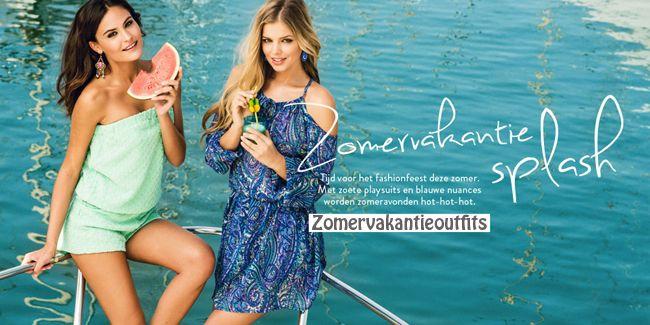 Zomervakantie? jouw look voor overdag en 'savonds. Op zoek naar een leuke zomer outfit, voor het strand een kleurige bikini en een bloemetjesjurk om te flaneren op de boulevard. Voor te winkelen in de stad en s'avonds heerlijk op stap te gaan. MEER http://www.pops-fashion.com/?p=12247