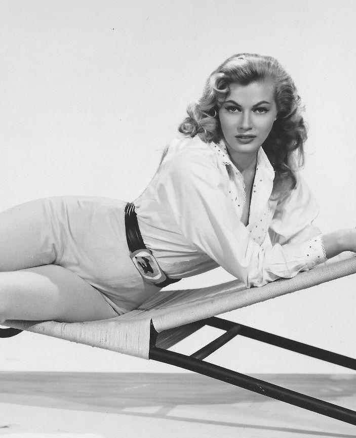 gatabella — Anita Ekberg, Artists and Models publicity still,...