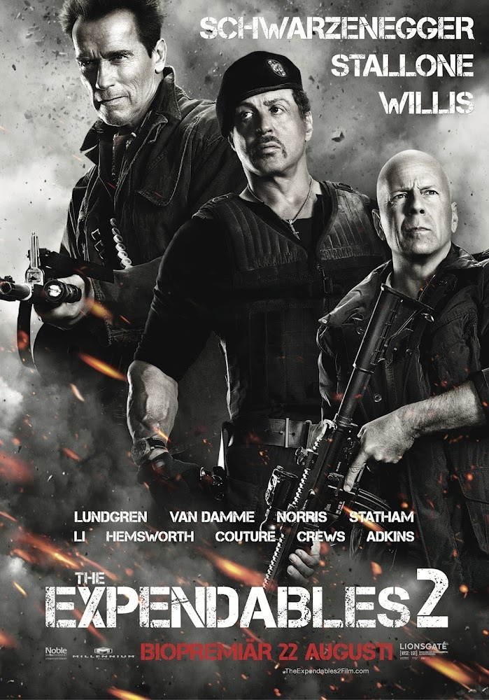The Expendables 2 (2012) 103 min - Action | Adventure | Thriller