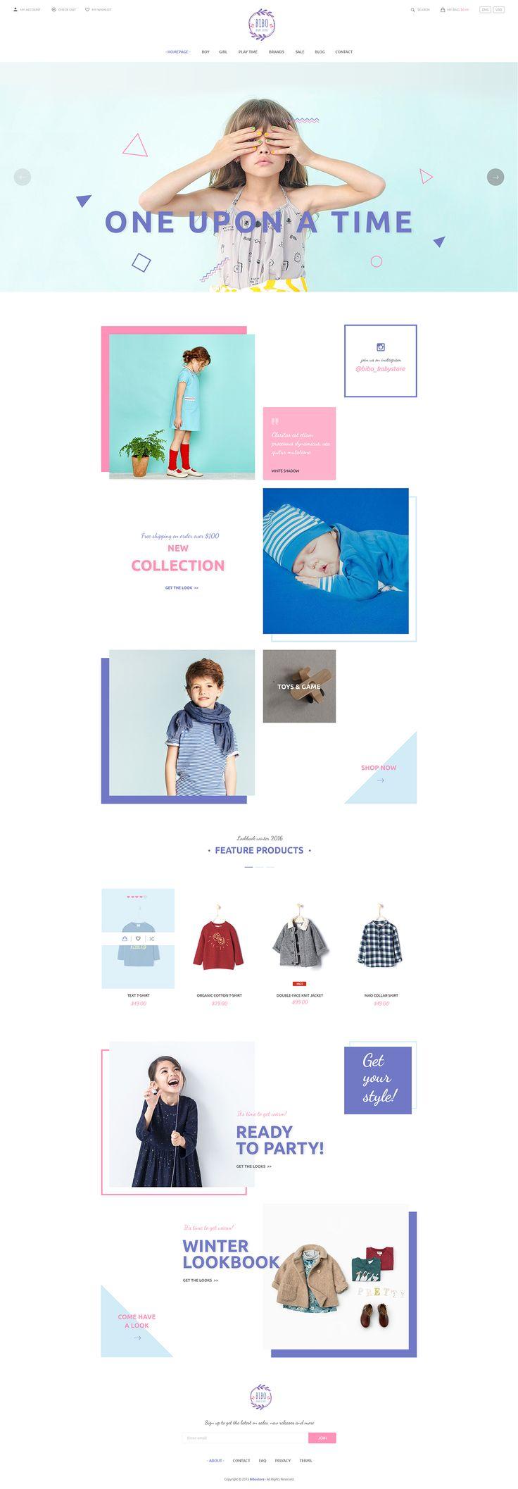 https://www.behance.net/gallery/32845993/Bibo-Baby-Store-PSD-Template
