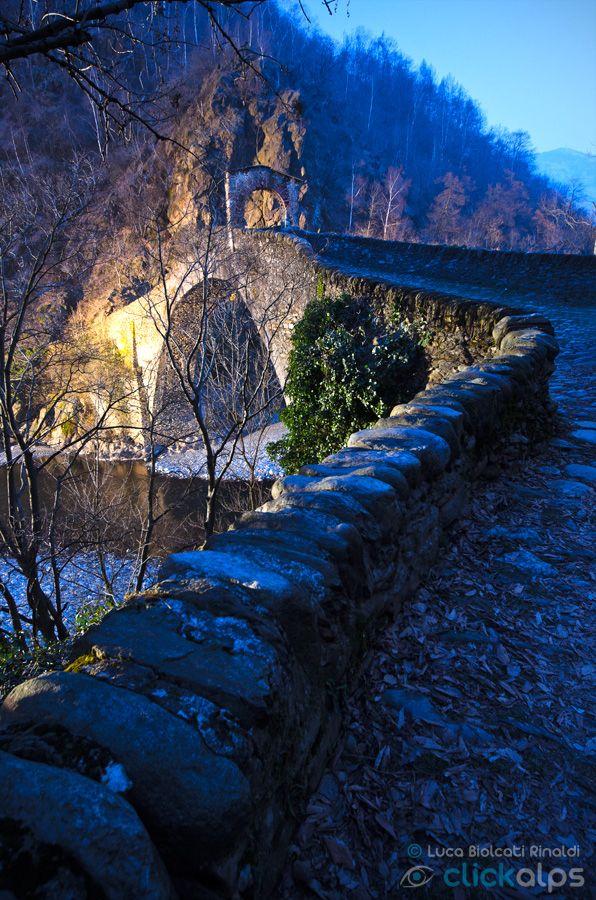 The Devil's bridge - Il Ponte del Diavolo, Lanzo, Piemonte Italy