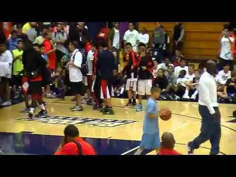 Michael Jordan Dunking at the age of 50! - YouTube