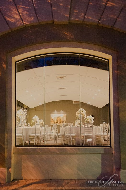 Heritage Listed Restaurant Two white wedding