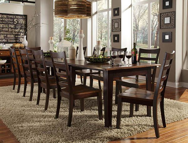 11 piece dining set for sale. 11 piece dining room set show home