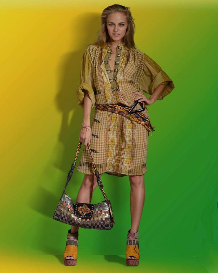 Go nature with this natural color dress - paulropp.com