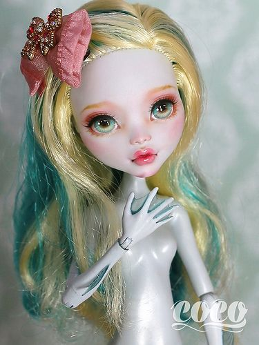 Monsterhigh doll custom | Flickr - Photo Sharing!