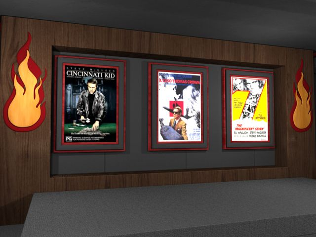 Movie Theater Wall Decor 134 best theater style images on pinterest | theatre rooms, movie