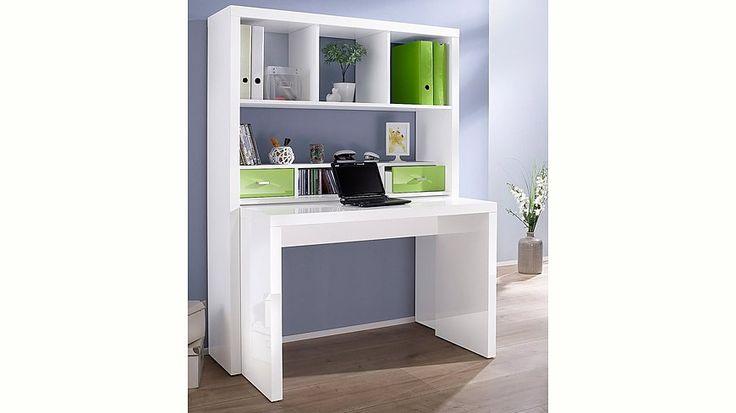 Jetzt Bürowand, HMW, »Danzig«, mit ausziehbarem Schreibtisch günstig im naturloft Online Shop bestellen