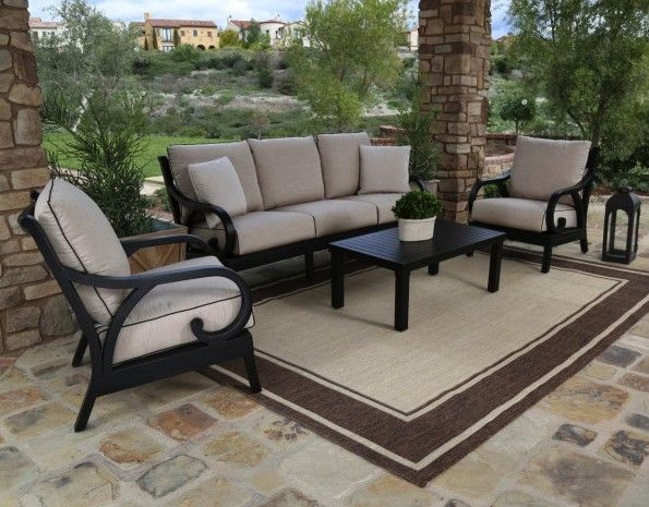 4pc. Monterey Sofa Set by Sunset West