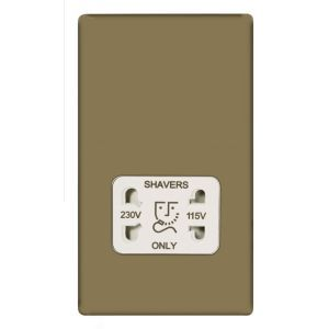 #British General Flat Plate Polished Pearl Nickel #British General Flat Plate Polished Pearl Nickel Dual Voltage Shaver Socket.This polished flat plate profile dual voltage shaver socket from British General is suitable for shavers and electric toothbrushes. (Barcode EAN=5397007087741)