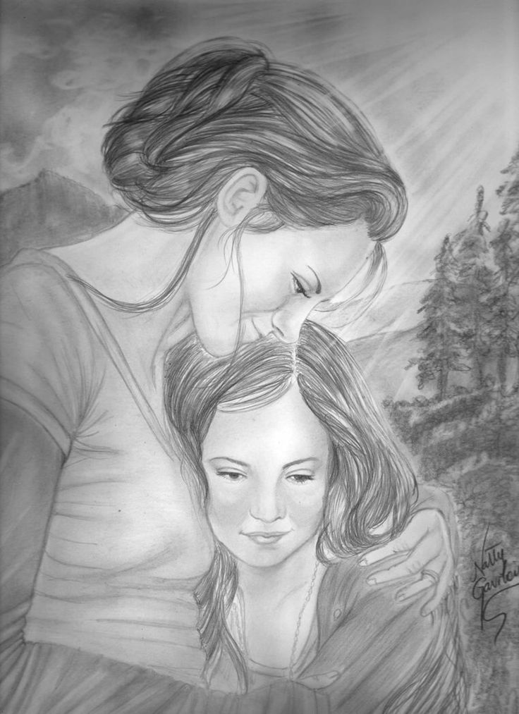 Mother and  child by Allie06 on @DeviantArt
