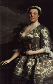 Anna Maria Garthwaite (b. Harston, Leicestershire, 14 March 1688[2] – October 1763) was an English textile designer known for creating vivid floral designs for silk fabrics hand-woven in Spitalfields near London in the mid-18th century.