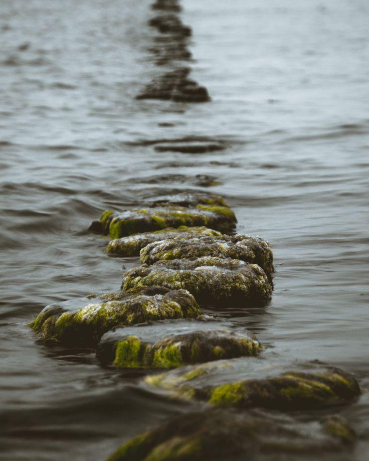 Regen an der Ostseee.  Rain at the baltic sea.  #boat, #anchor, #baltic sea, #ostsee, #sunset #beach, #rain
