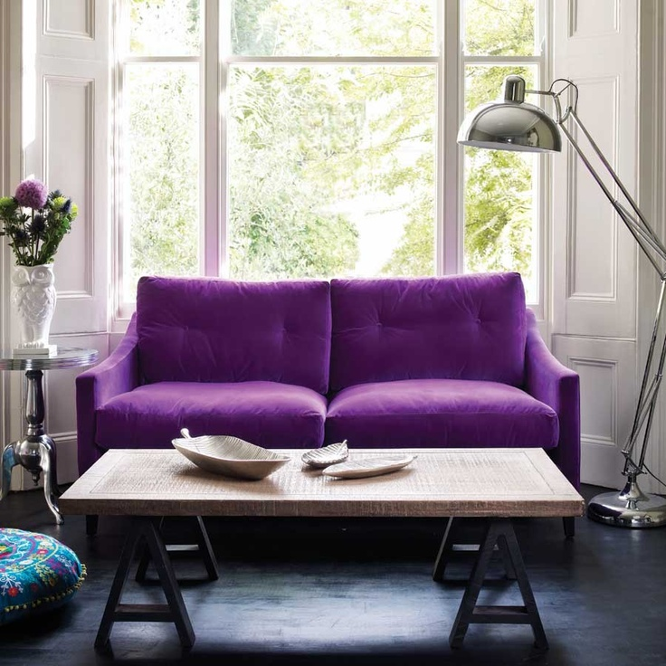 Purple Couch: 17 Best Images About Velvet Couches On Pinterest