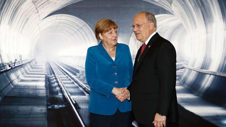 Bahn frei für einen Megabau: Heute wird der längste Eisenbahntunnel der Welt eröffnet – der 57 km lange Gotthard-Basistunnel in der Schweiz!
