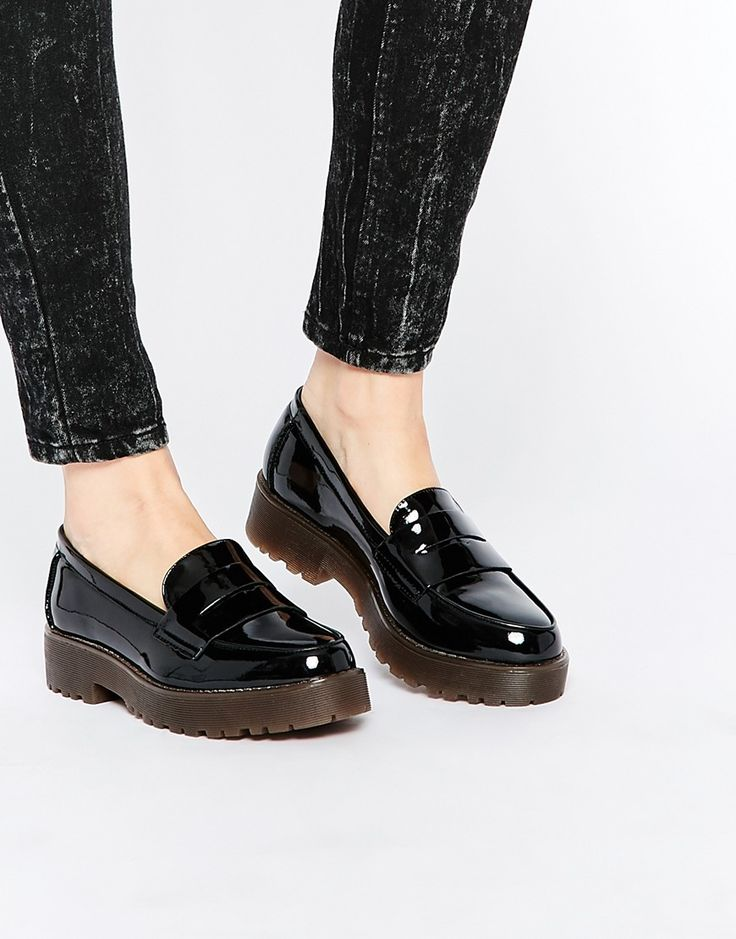 Mocasines con suela gruesa de New Look #ASOS