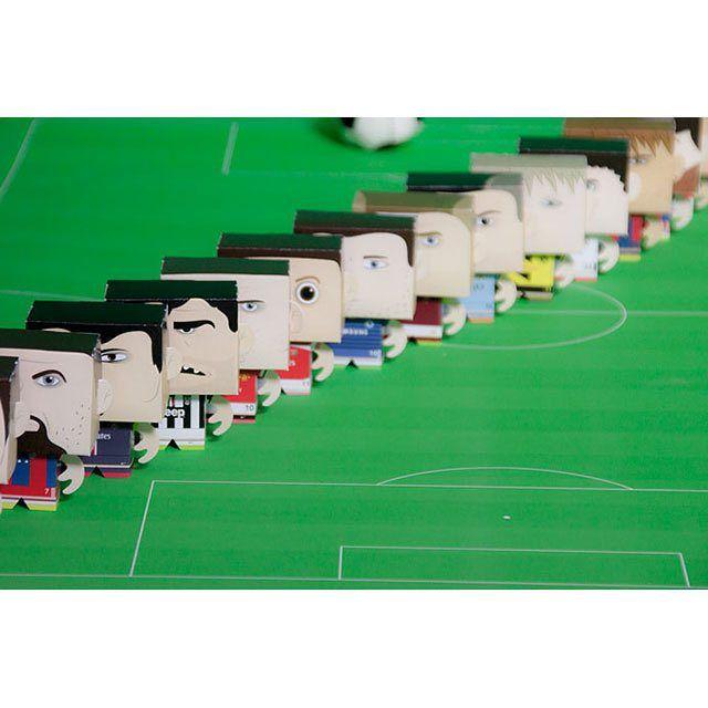 : بازیکن های فصل 2014 - 2015 باشگاهای اروپا در چاپبو 4,500 تومان chapboo.com/toy  #چاپبو #آدمکاغذی#فوتبال #مسی #رونالدو #توز #پیرلو #ریبری #رونی #ابراهیموویچ #آزار #بارسلونا #رئال_مادرید  #chapboo #papertoy #football #hazard #ibrahimović #messi #pirlo #ribéry #ronaldo #rooney #tevez #barcelona #real_madrid