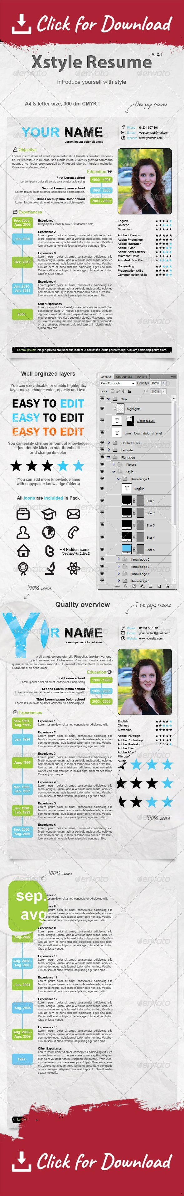 45 best Resumes images on Pinterest | Cv template, Design resume ...