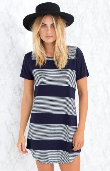 Team the Navigation Dress with white sneakers and a broad brim hat for a effortlessly cool day look, that will have everyone asking for directions to where you brought your  dress (online obvs.) #BBFEST #beginningboutique