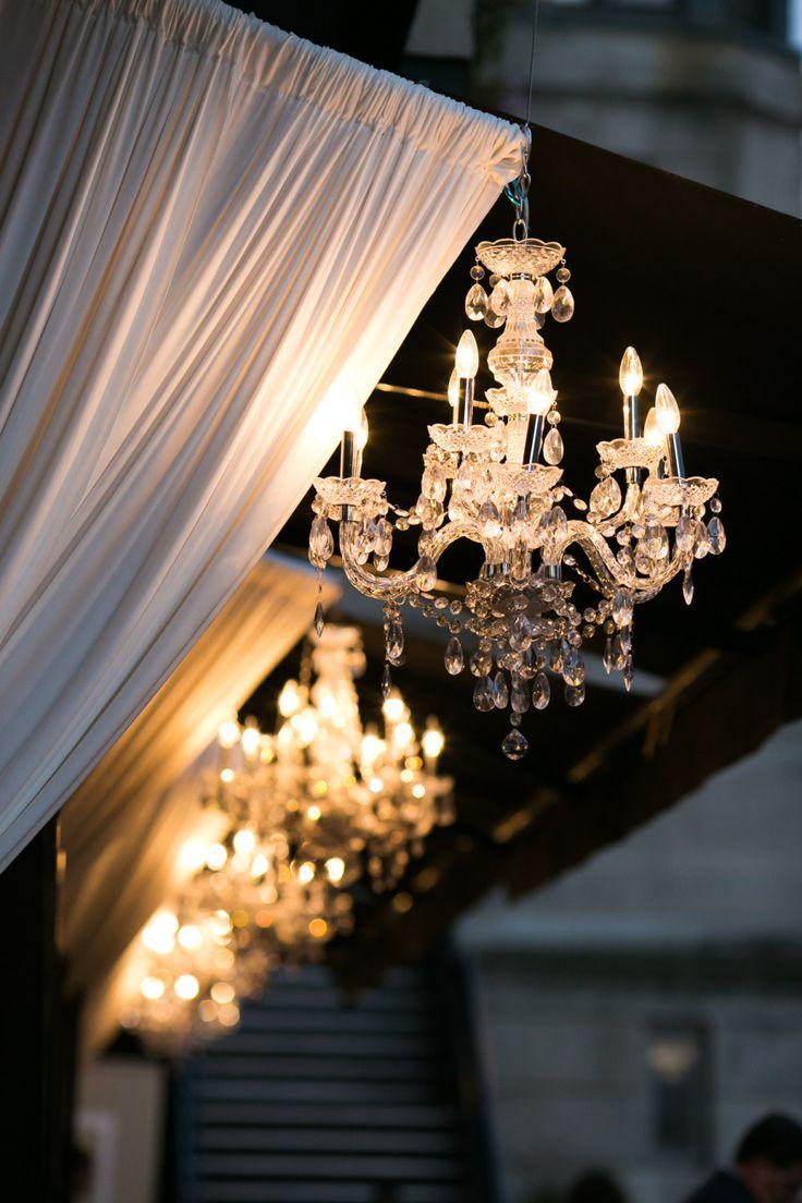 140 best sparkling chandelier weddings images on pinterest fultons on the river wedding arubaitofo Images