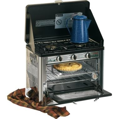 I LOVE LOVE LOVE my camping oven!  I actually got it at Costco last year and have made brownies, chocolate turn overs, and even a casserole while camping!