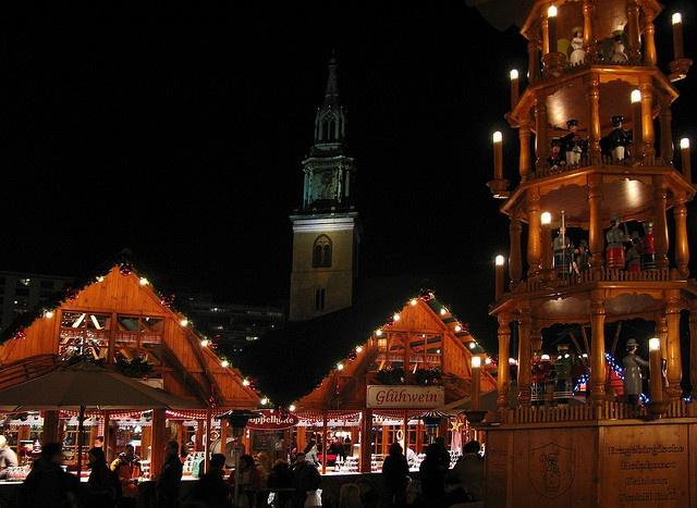 Weihnachtsmarkt, Alexanderplatz