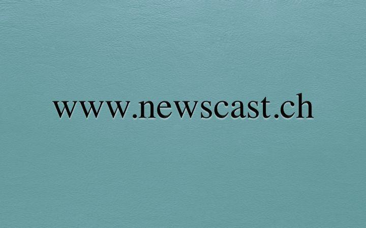www.newscast.ch  Premium Domainname Verfügbar für Akquisition auf / Nom de Domaine Premium Disponible pour Acquisition sur / Premium Domain Name Available for Acquisition on www.spotnet.ch für / pour / for 1'100.- CHF