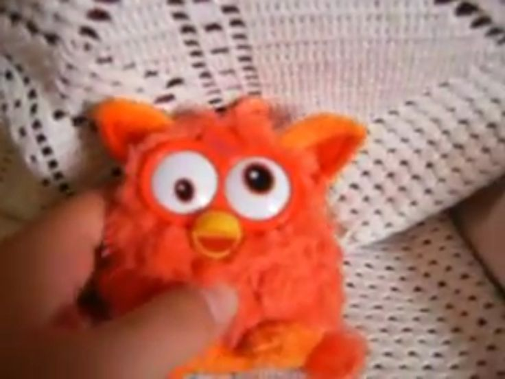 Orange Furby famosa (one of my videos on YouTube)
