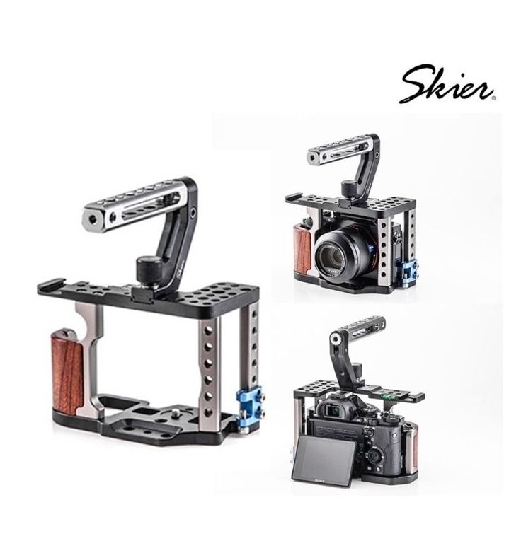 LiteCage for A7 reduce the size of heavy DSLR rig, but still keep the best of convenience and protection. also capable to attach many accessories you need. (Compatible with Sony A7,A7R,A7s ). The flip-out screen of A7 won't be blocked, allow you to setting up or check the shooting. | Shop this product here: http://spreesy.com/fiuscam/5 | Shop all of our products at http://spreesy.com/fiuscam    | Pinterest selling powered by Spreesy.com