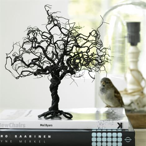 Unique decoration, made by metal wires. Handmade, designed by Christian Noah Møller