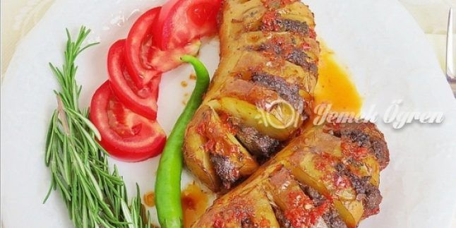 Yelpaze Patates Kebabı Tarifi – Yelpaze Patates Kebabı Nasıl Yapılır?