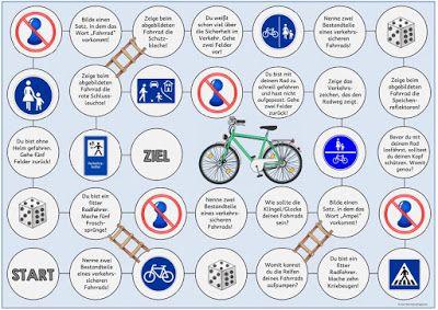 Ideenreise: Zwei Spielfelder zur Verkehrserziehung