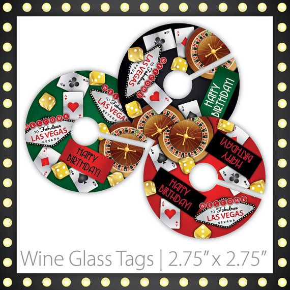 Casino Wine Glass Markers . PRINTABLE . Lucky Draw . Happy Birthday . INSTANT DOWNLOAD ~ Casino Wine Markers, Casino Wine Labels, Casino Wine Tags, Casino Party Wine Markers, Casino Night Wine Markers, Casino Party Wine Markers, Casino Party Wine Tags, Casino Night Wine Tags, Poker Party, Casino Theme Party, Damask Casino, Fancy Casino, Casino Retirement, las vegas theme, casino birthday, 30th birthday ~ #casinowinetags #casinoideas #casinoparty ~ https://www.etsy.com/listing/188311060