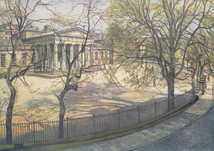 James McIntosh Patrick Dundee High School Signed Limited Edition Print | Scottish Contemporary Art