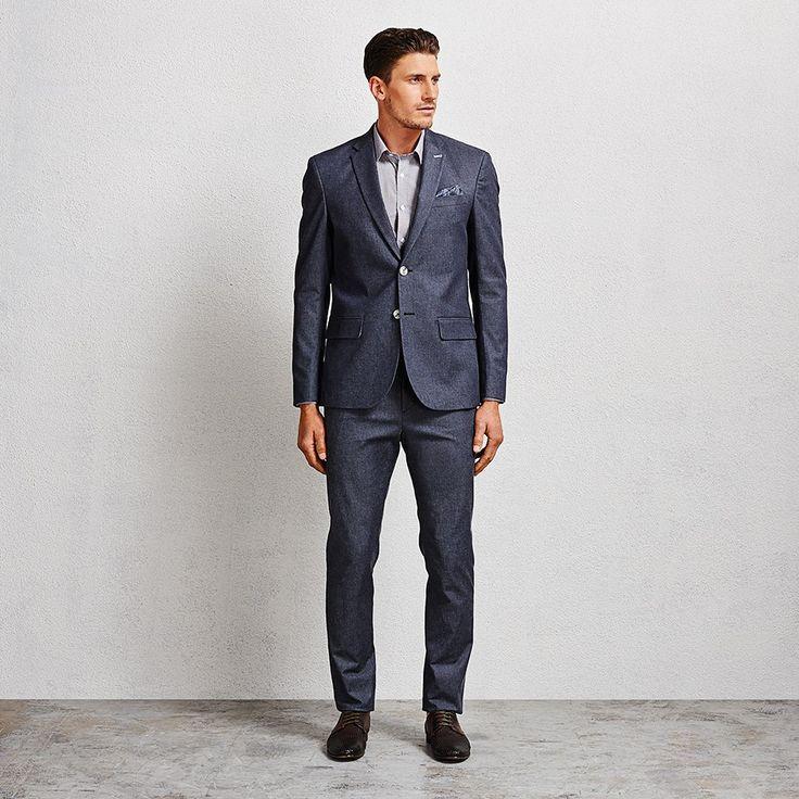 Hunter Denim Suit #suit #denimsuit #aquila