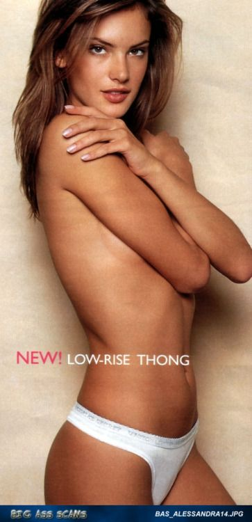 Stunning Alessandra Ambrosio in lingerie