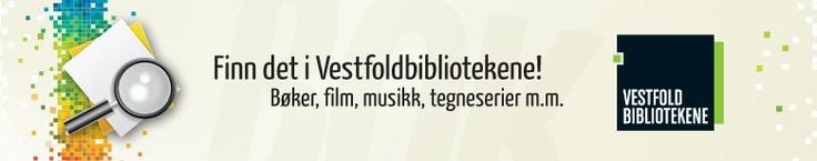 Finn det på biblioteket: Bøker, film, musikk, tegneserier m.m. Samsøk Vestfold