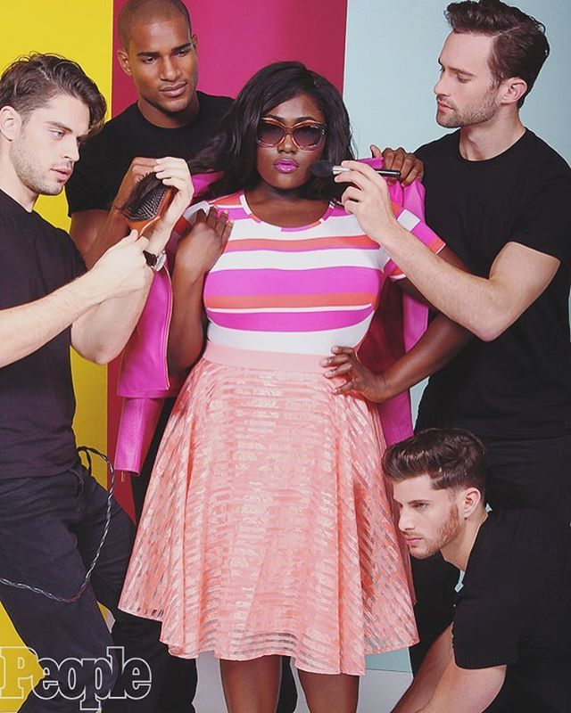 I photographed Danielle Brooks as the face of @CSiriano's new collab collection with Lane Bryant! Check out more photos exclusively at People.com. #plusisequal