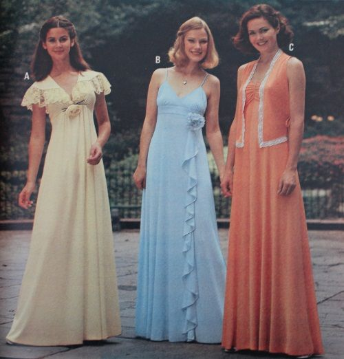 1979 formal dresses | 1970s Fashion in 20