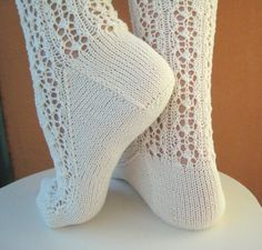 lace socks free pattern